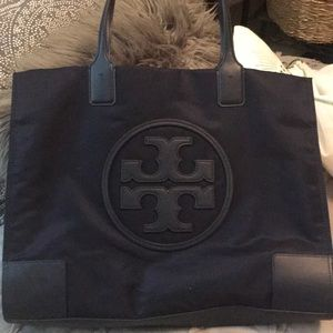 Tory Burch Bags - Authentic Tory Burch Ella Tote In Navy